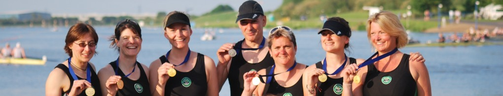 MKRC Medal Winners, British Rowing Masters Championships 2014