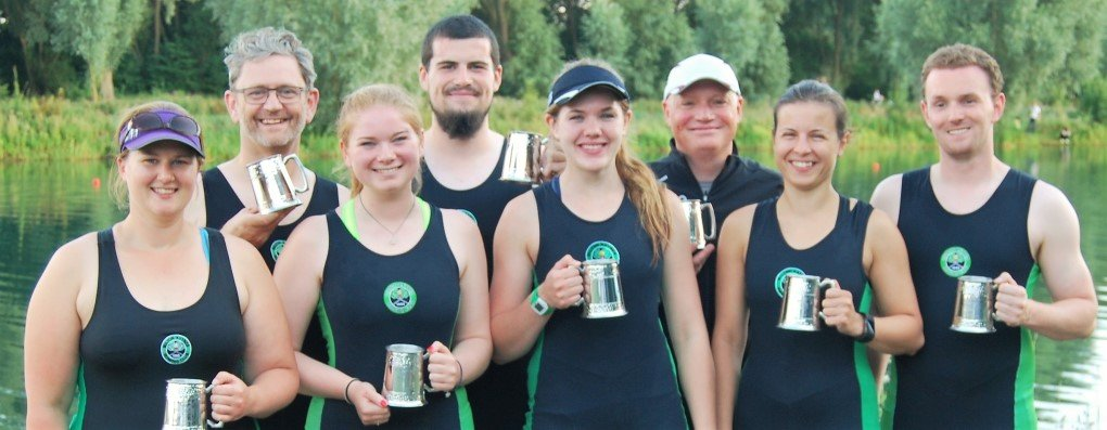 Photo of Milton Keynes Rowing Club Winners Peterborough 2016