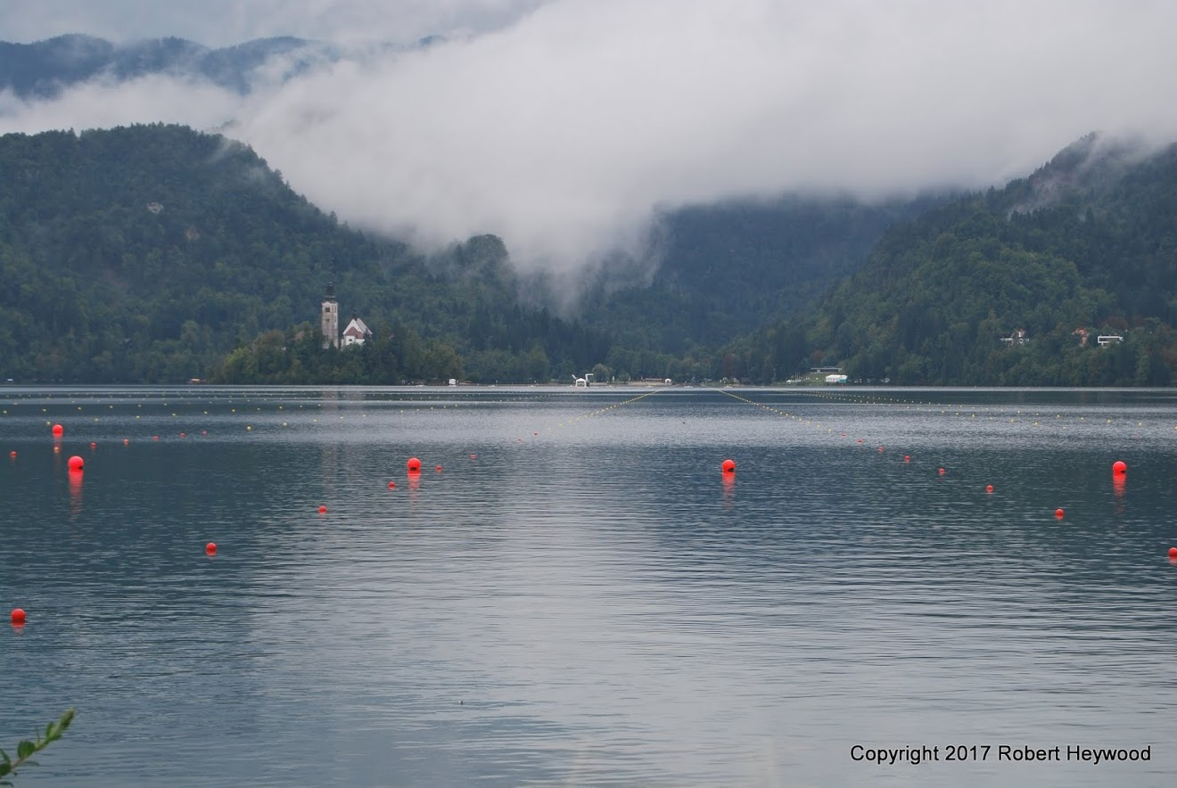 A misty start on Lake Bled
