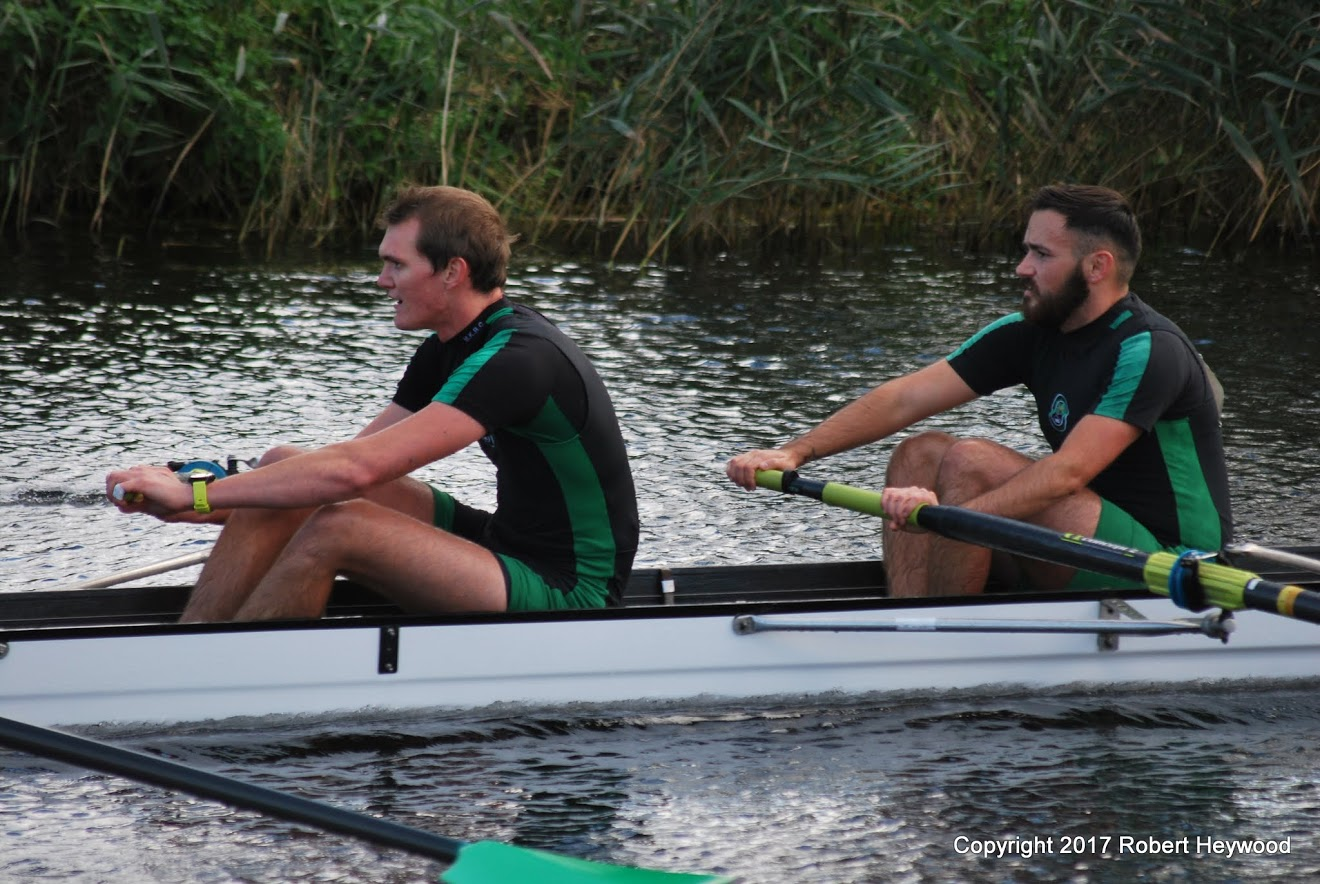 Charlie and Aiden, Men's 4+ at Huntingdon