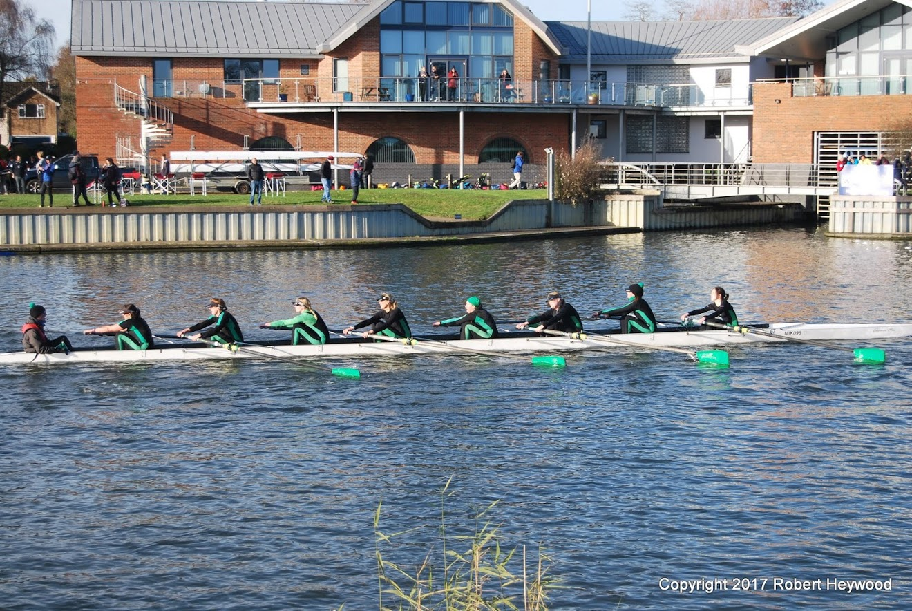 Ladies 8+ at Wallingford Head